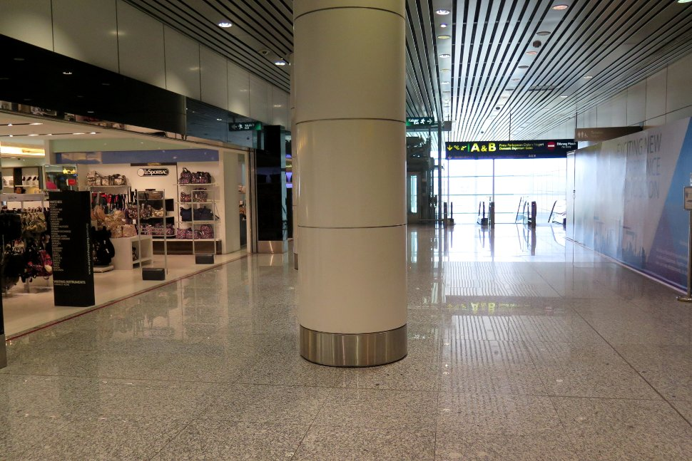 Entrance for Domestic departures