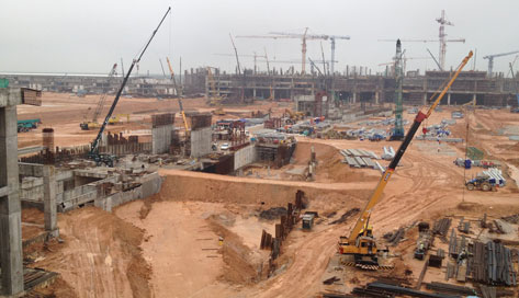 KLIA2 construction in progress