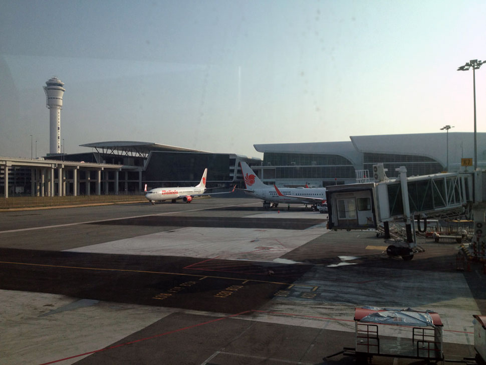 Malindo Air flight and KLIA2