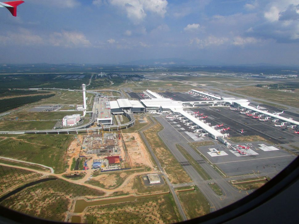 Skyview of the KLIA2