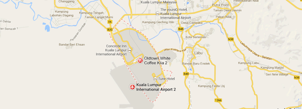 Location of KLIA2