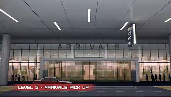 Level 2 - Arrivals pick up