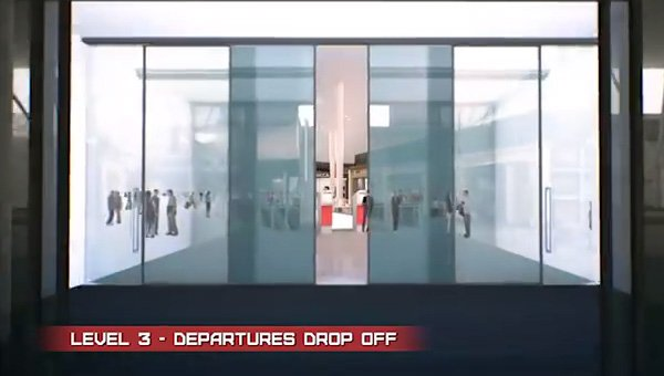Level 3 - Departures drop off