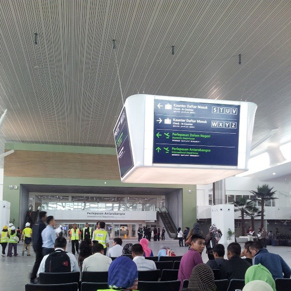 KLIA2, Construction picture as at 26 March 2014