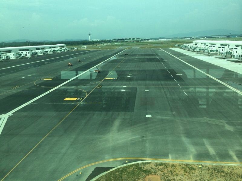 klia2, Construction picture as at 12 April 2014