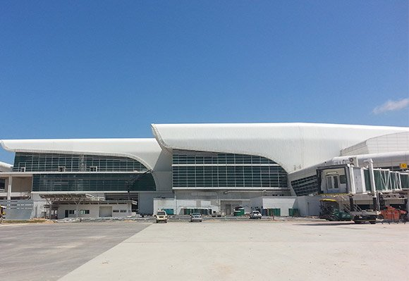 KLIA2, Construction picture as at 31 January 2014