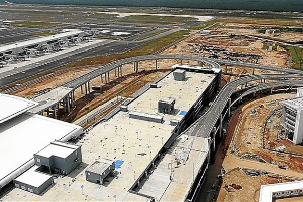 KLIA2, Construction picture as at 5 February 2014