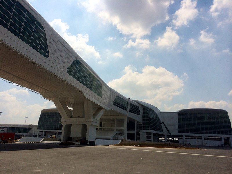 klia2, Construction picture as at 12 February 2014