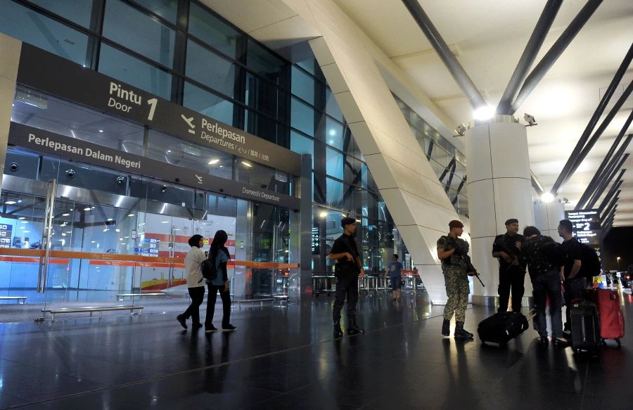 KLIA beefs up security