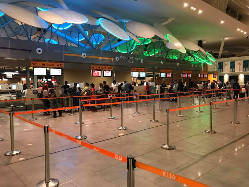klia2 check in counters at departure hall
