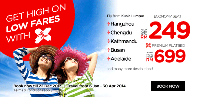 Airasia Promo Dec on Flatbed Mins