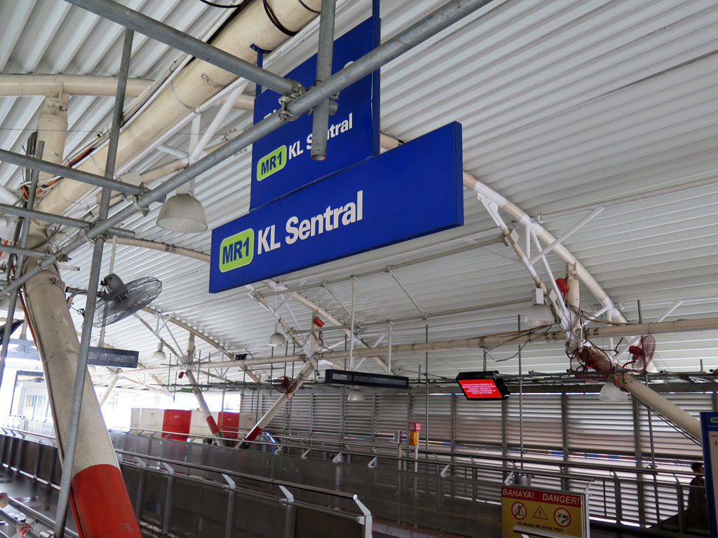 Stesen Sentral Kuala Lumpur, KL Sentral, Malaysia's