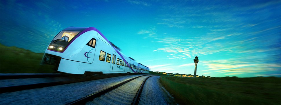 KLIA Ekspres, the fastest rail optoin to the KLIA / klia2 airport