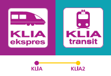 Inter-terminal transfer between KLIA and klia2