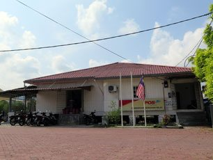 Post office near Nilai KTM Komuter station