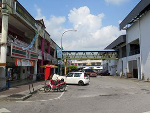 Shops near Nilai KTM Komuter station