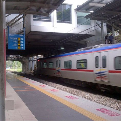 Bank Negara KTM Komuter station