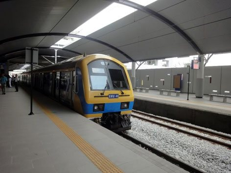 Batu Caves KTM Komuter station