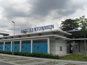 Batu Kentonmen KTM station