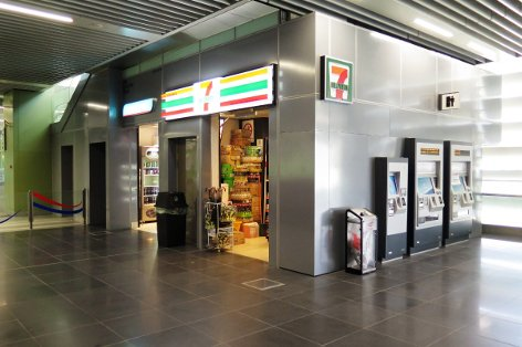 7-eleven convenience store at Pusat Bandar Damansara station