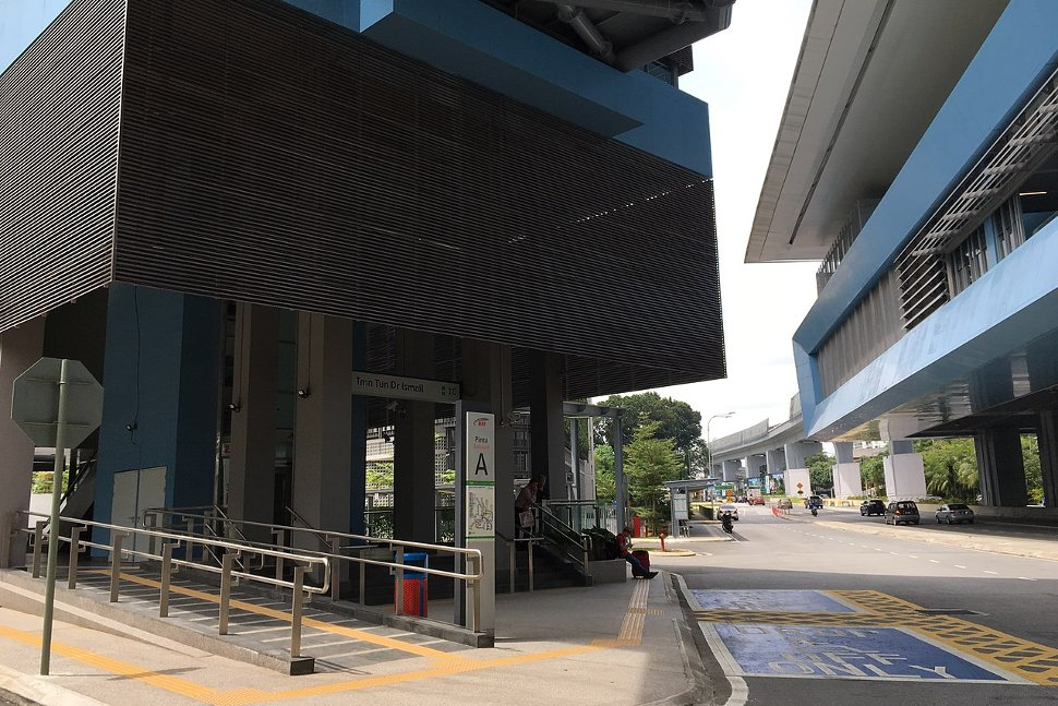 Entrance A: West side of Jalan Damansara