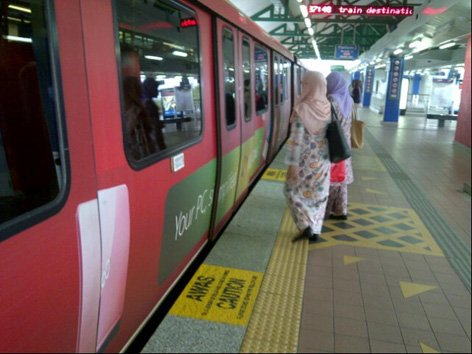 Damai LRT Station