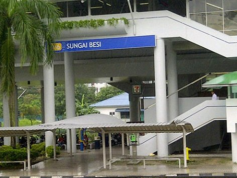 Sungai Besi LRT station