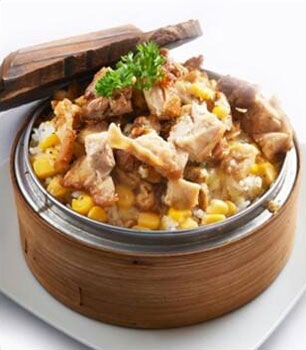 Alessio Express Creamy Chicken-& Corn Baked Rice