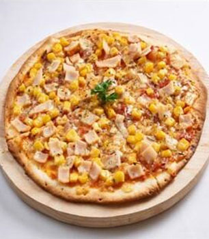 Alessio Express Ham & Sweet Corn Pizza