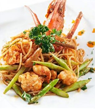 Alessio Express King Prawn Spaghetti