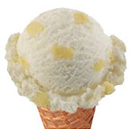 Baskin Robbins Pineapple Coconut Ice Cream
