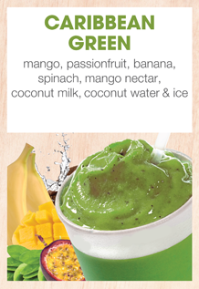 Boost Juice Bars Caribbean Green