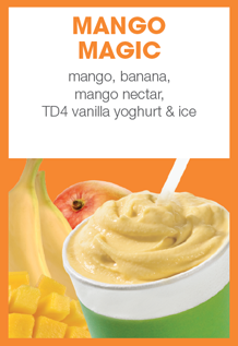 Boost Juice Bars Mango Magic