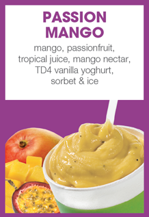 Boost Juice Bars Passion Mango