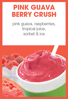 Boost Juice Bars Pink Guava Berry Crush