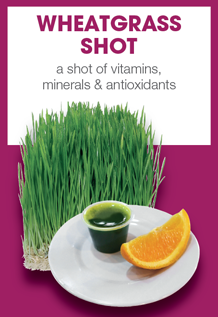Boost Juice Bars Wheatgrass Shot