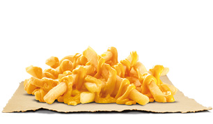 Cheezy Fries - Burger King
