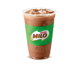 Iced Milo - Burger King