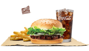 BK Singles Black Pepper - Burger King