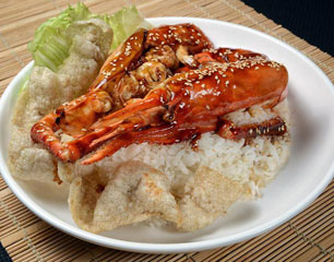 Chef Chow Jumbo Prawn Rice