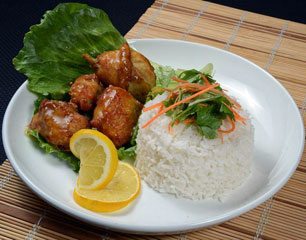 Chef Chow Sweet & Sour Chicken Rice