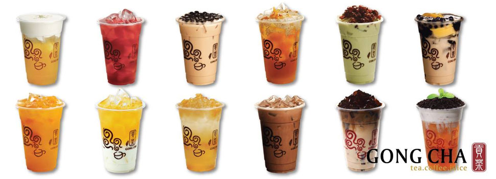 Gong Cha Tea, Coffee, Juice