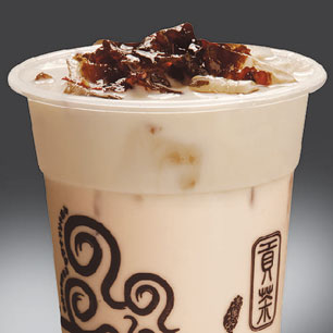 Gong Cha Longan Red Date Milk Tea