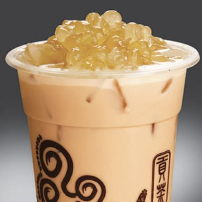 Gong Cha Milk Tea with White Pearl