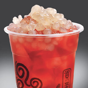 Gong Cha Roselle Tea with White Pearl