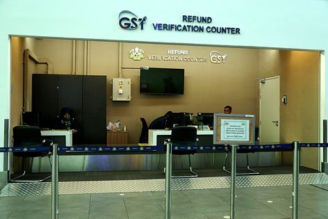 GST Refund Verification Center at klia2