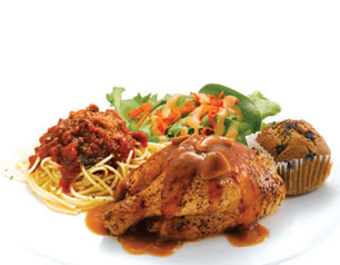 Chicken Pasta Meal - Kenny Rogers Roasters