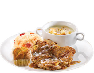 Chicken Soup Meal - Kenny Rogers Roasters