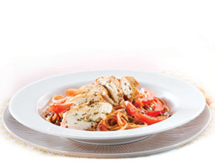 Tangy Chicken Spaghetti - Kenny Rogers Roasters