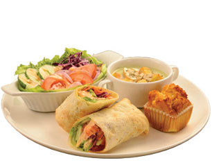 Vegelicious Tortilla Wrap Meal - Kenny Rogers Roasters